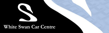 White Swan Car Centre logo